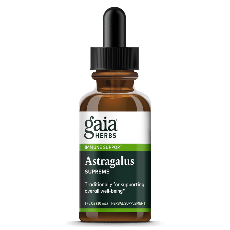 Gaia Herbs Astragalus Supreme for Immune Support || 1 oz