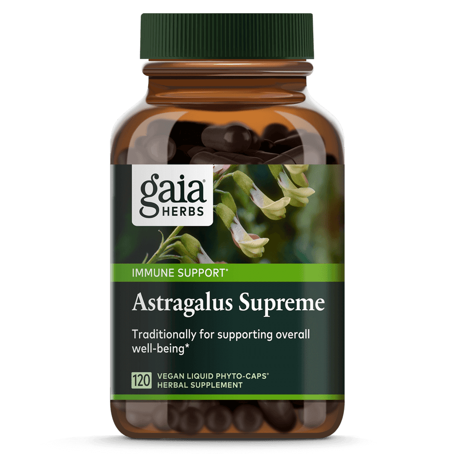 Gaia Herbs Astragalus Supreme for Immune Support || 120 ct