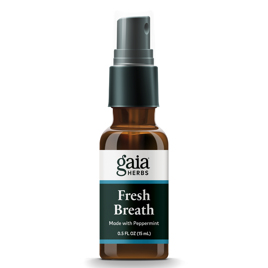Gaia Herbs Fresh Breath Spray  || 0.5 oz