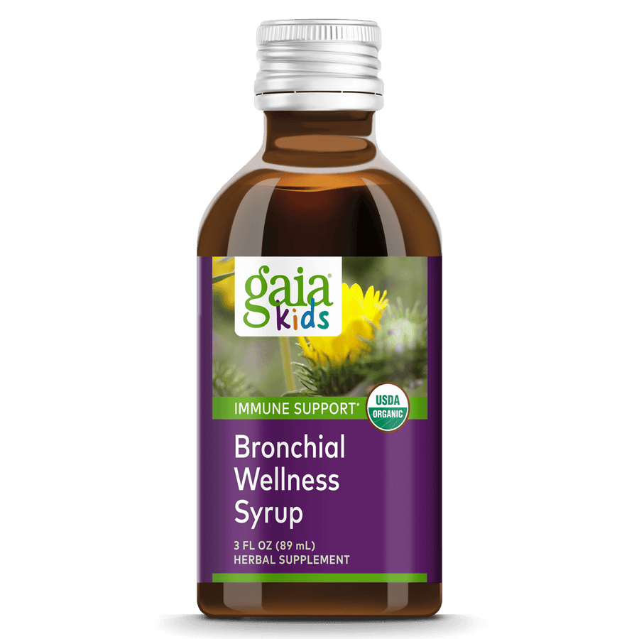 GaiaKids® Bronchial Wellness Syrup for Immune Support || 3 oz