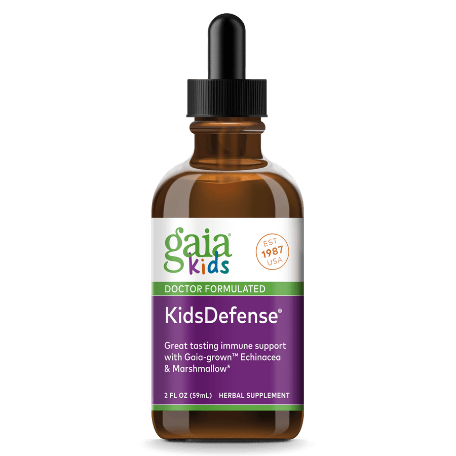 Gaia Herbs GaiaKids KidsDefense for Immune Support || 2 oz