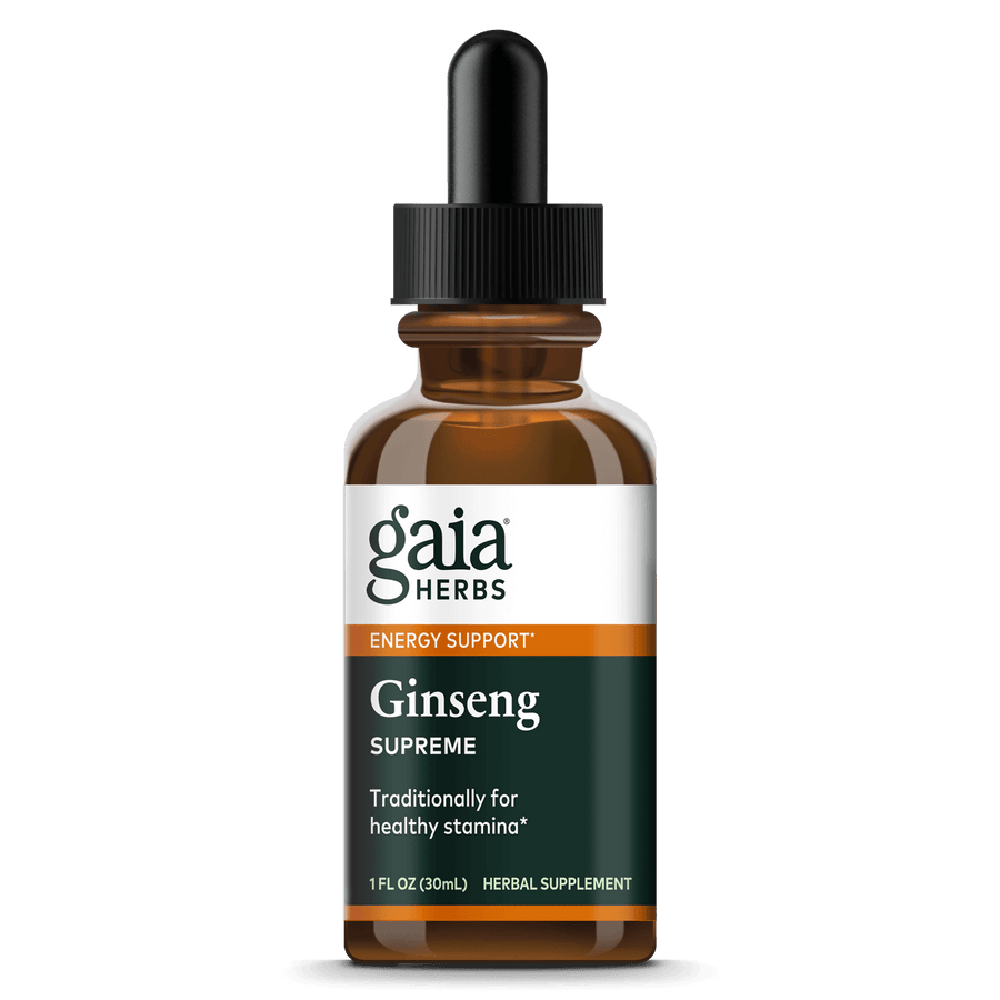 Gaia Herbs Ginseng Supreme for Energy Support || 1 oz