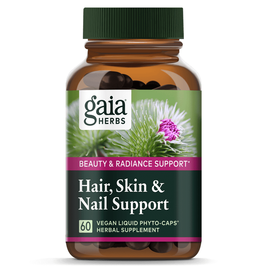 Gaia Herbs Hair, Skin & Nail Support for Beauty & Radiance Support
