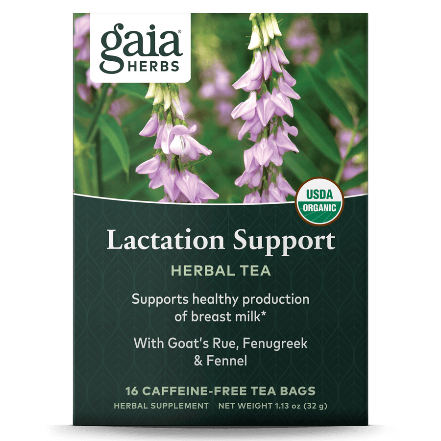 Gaia Herbs Lactation Support Herbal Tea for Women || 16 ct