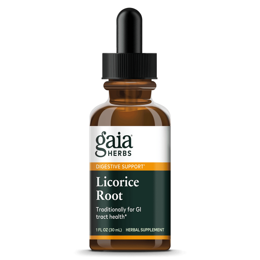 Gaia Herbs Licorice Root for Digestive Support || 1 oz
