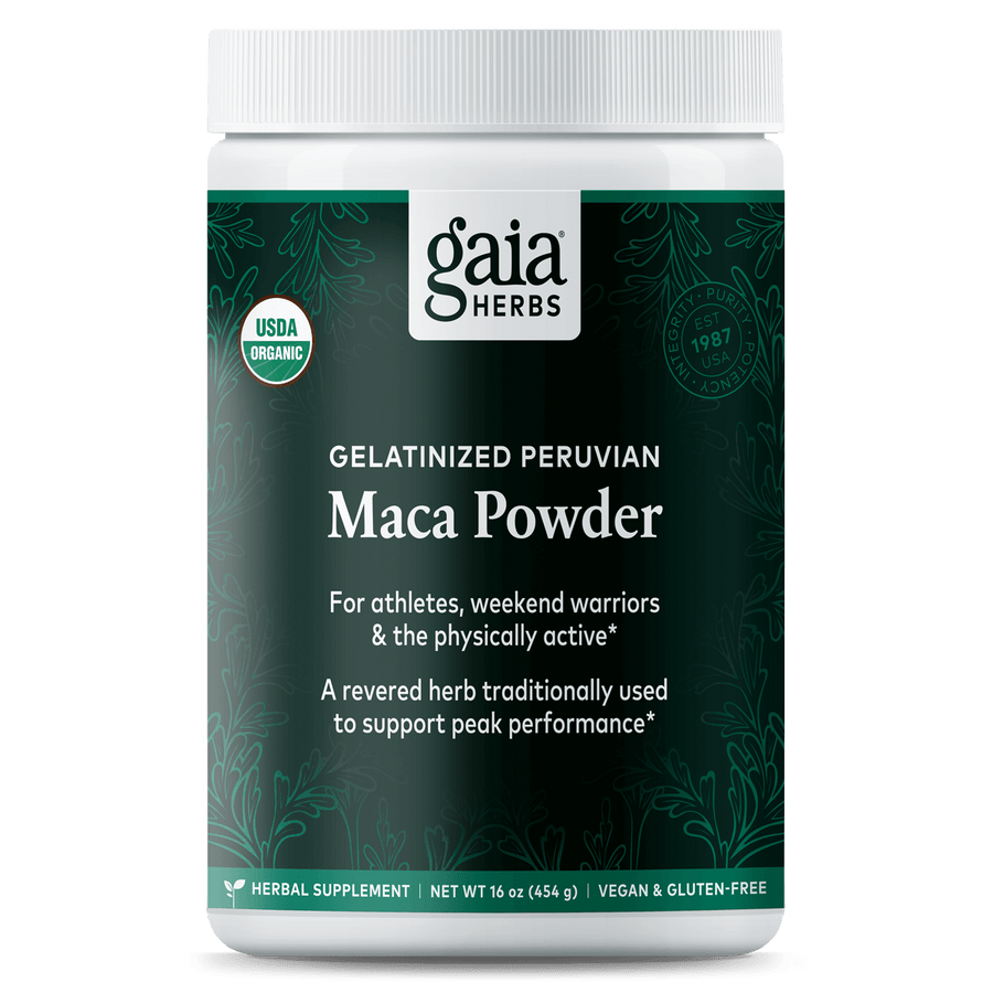 Gaia Herbs Maca Powder for Energy Support || 16 oz