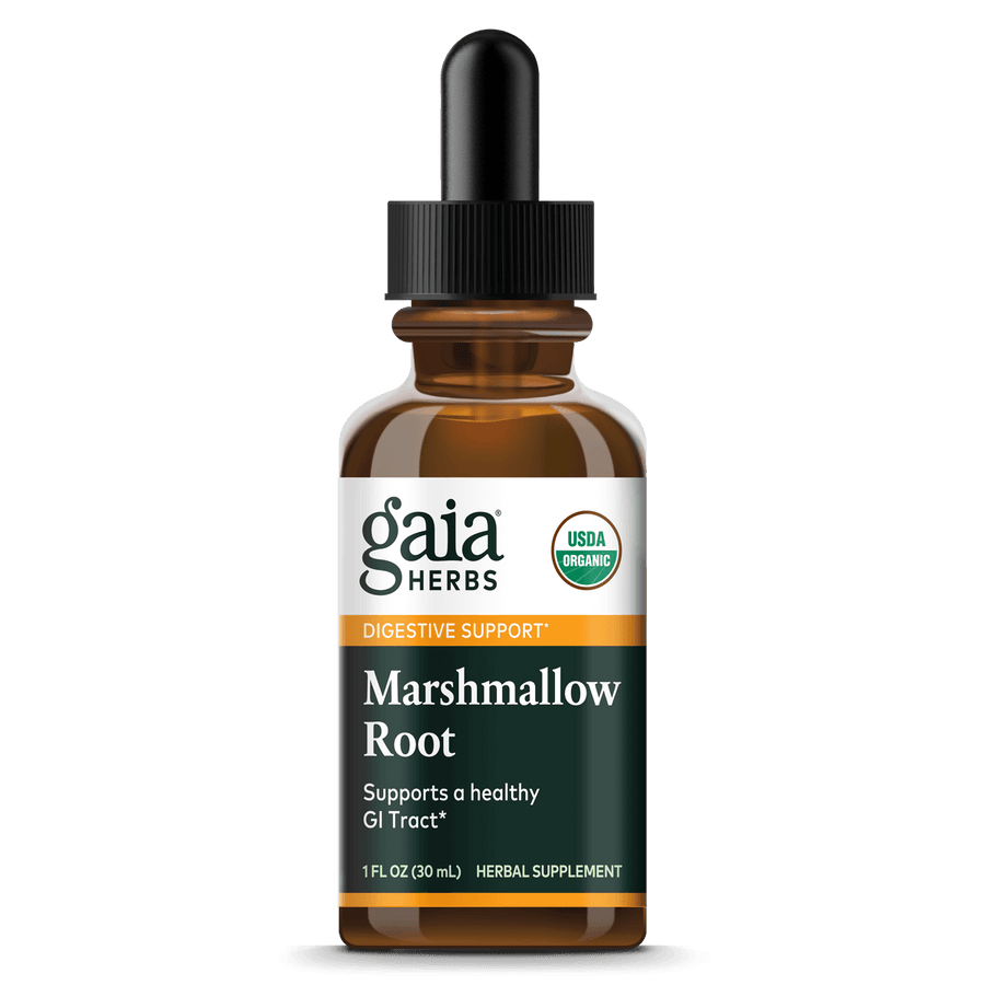 Gaia Herbs Marshmallow Root for Digestive Support || 1 oz