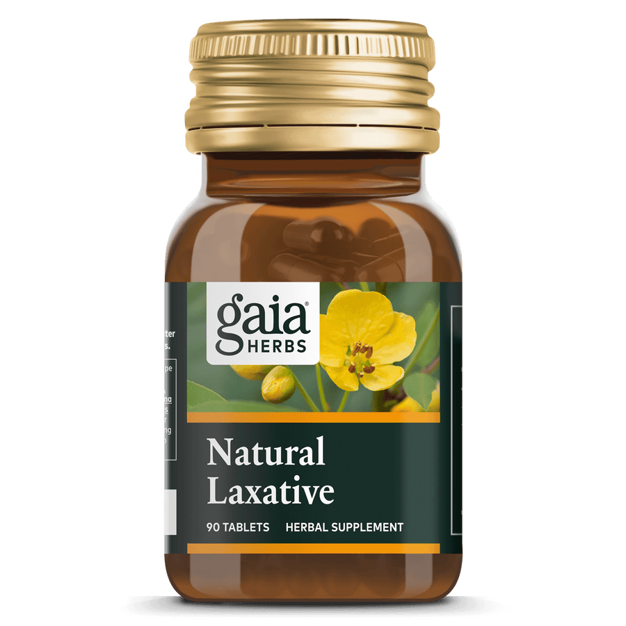 Gaia Herbs Natural Laxative for Digestive Support