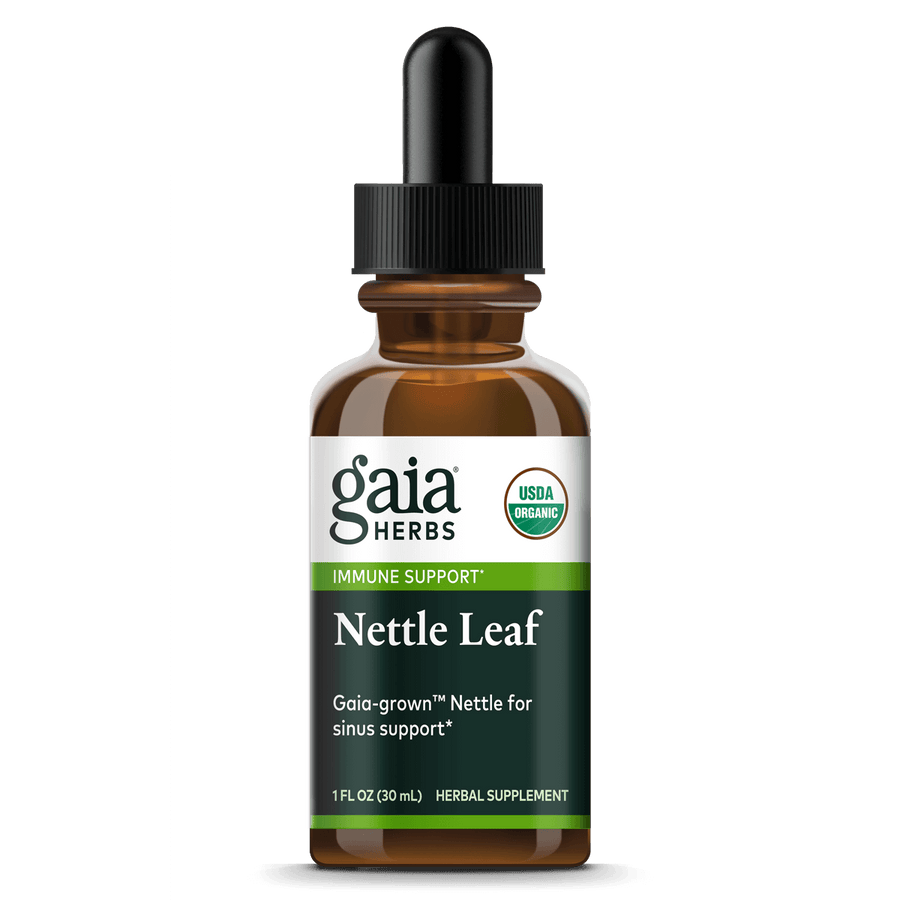 Gaia Herbs Nettle Leaf, Certified Organic for Immune Support