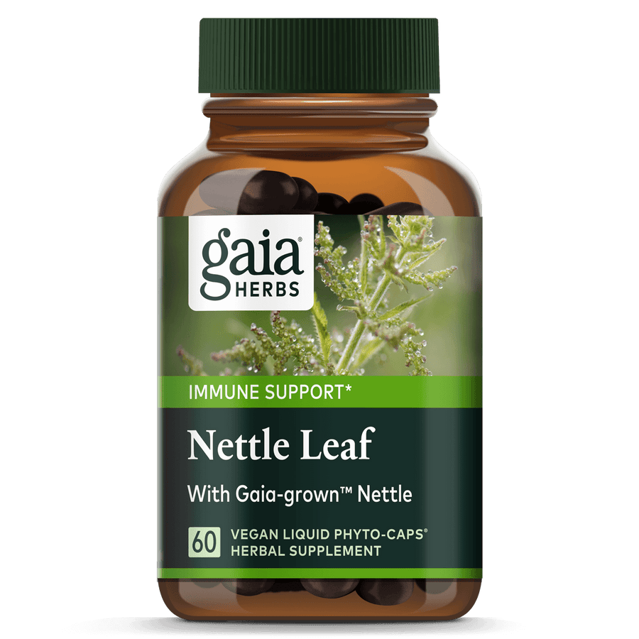 Gaia Herbs Nettle Leaf for Immune Support || 60 ct