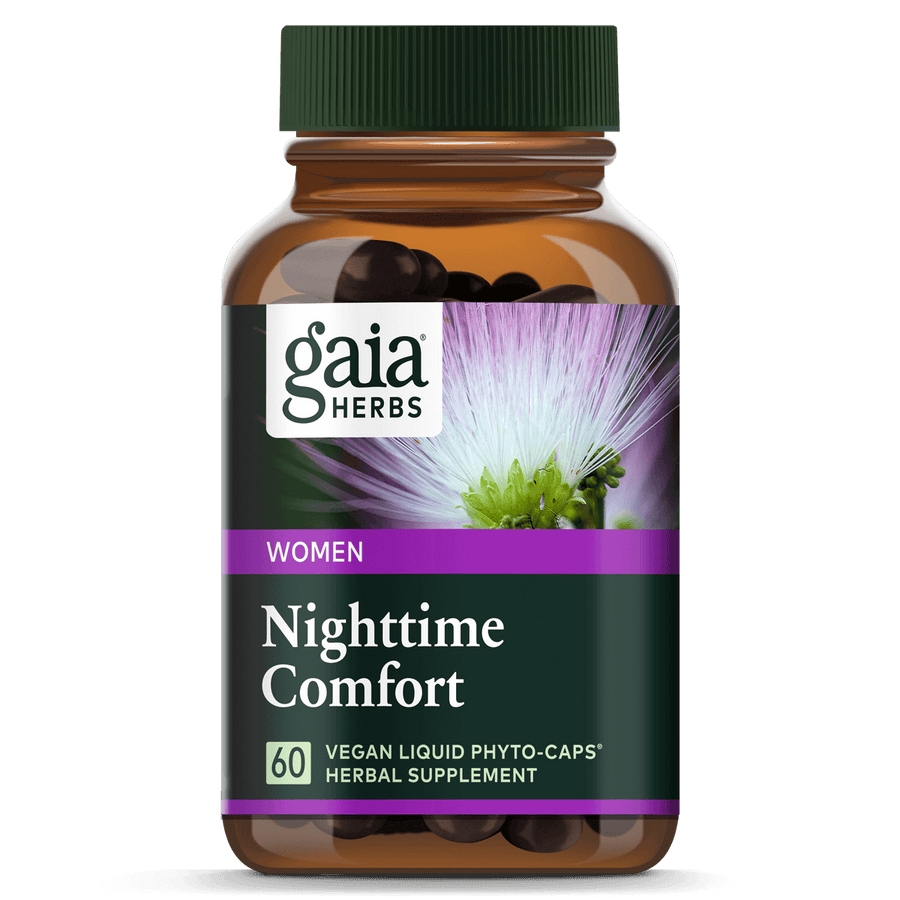 Gaia Herbs Nighttime Comfort for Women || 60 ct