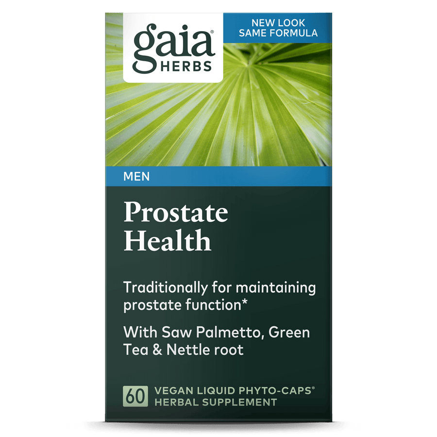 Gaia Herbs Prostate Health for Men || 60 ct