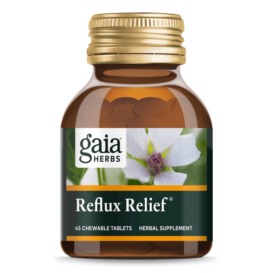 Gaia Herbs Reflux Relief for Digestive Support || 45 ct