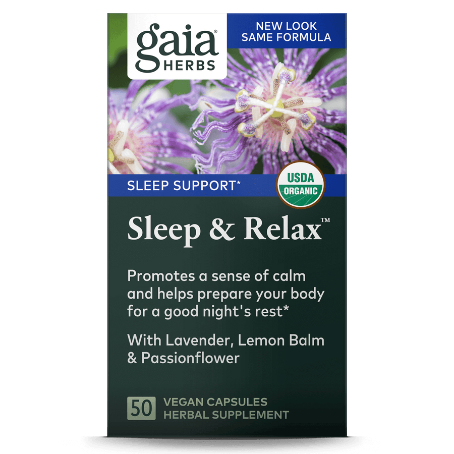 Gaia Herbs Sleep & Relax for Sleep Support