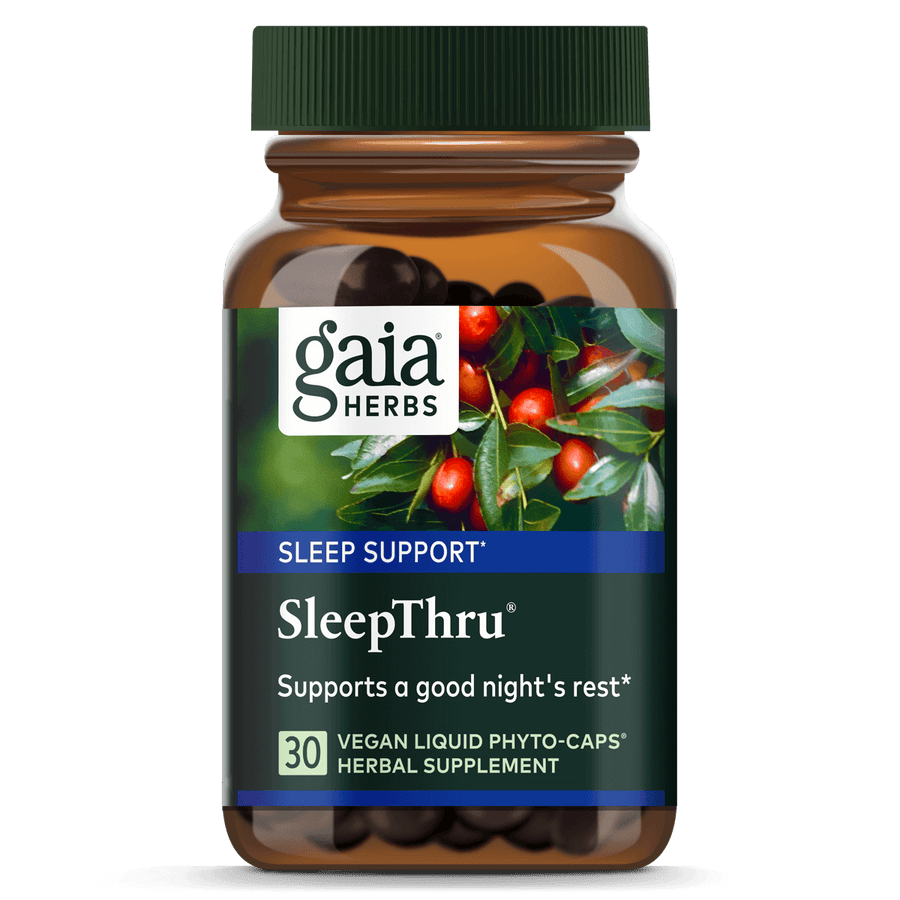 Gaia Herbs SleepThru for Sleep Support || 30 ct