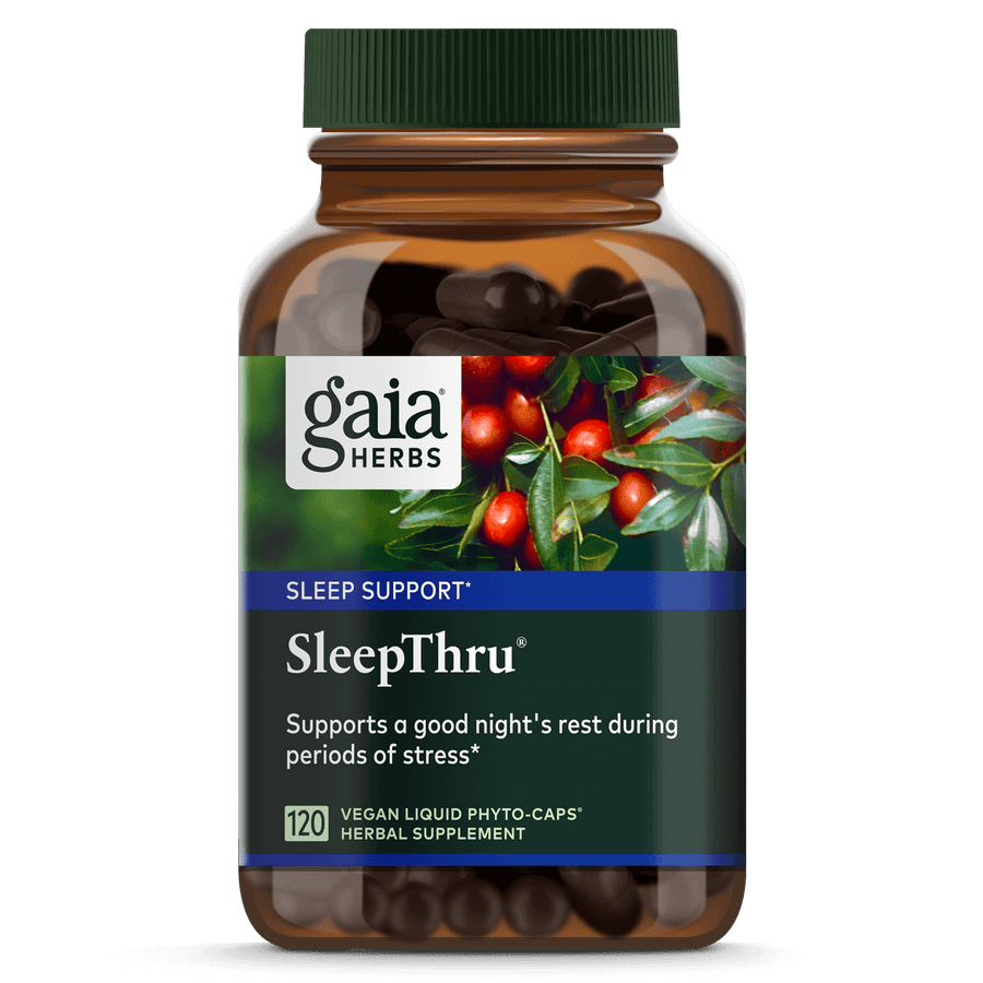 Gaia Herbs SleepThru for Sleep Support || 120 ct