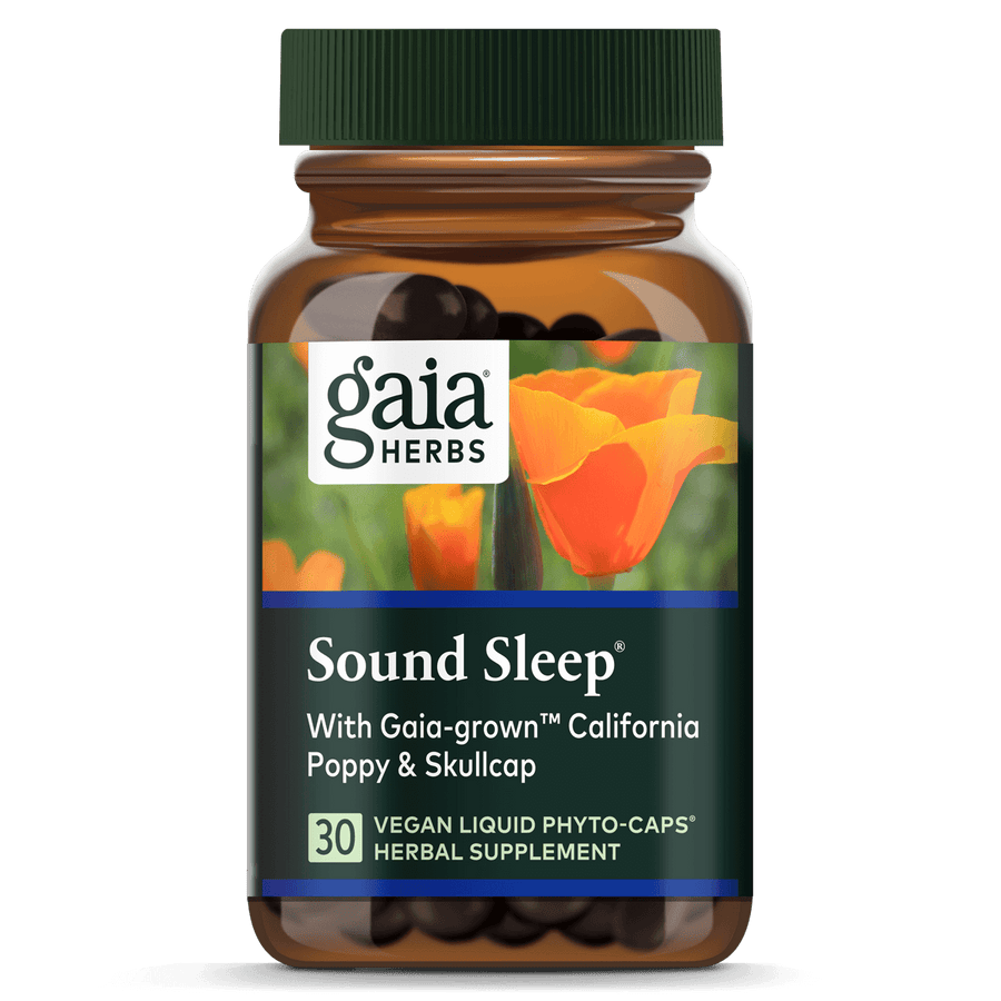 Gaia Herbs Sound Sleep for Sleep Support || 30 ct