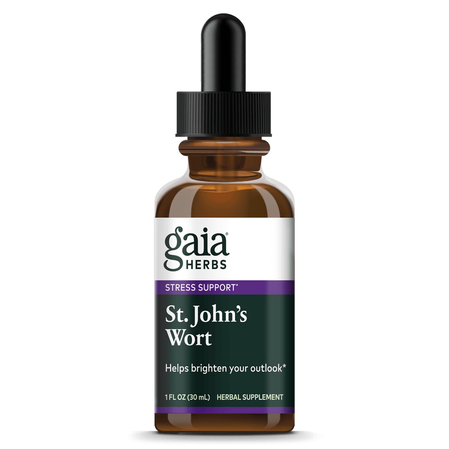Gaia Herbs St. John's Wort Liquid Extract for Stress Support