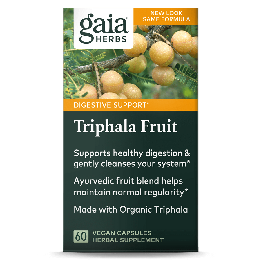 Gaia Herbs Triphala Fruit for Digestive Support
