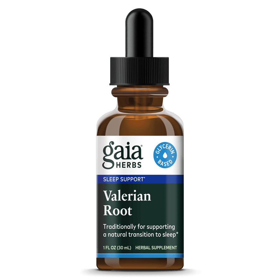 Gaia Herbs Valerian Root, Vegetable Glycerin Extract for Sleep Support