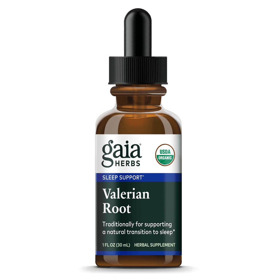 Gaia Herbs Valerian Root, Certified Organic for Sleep Support