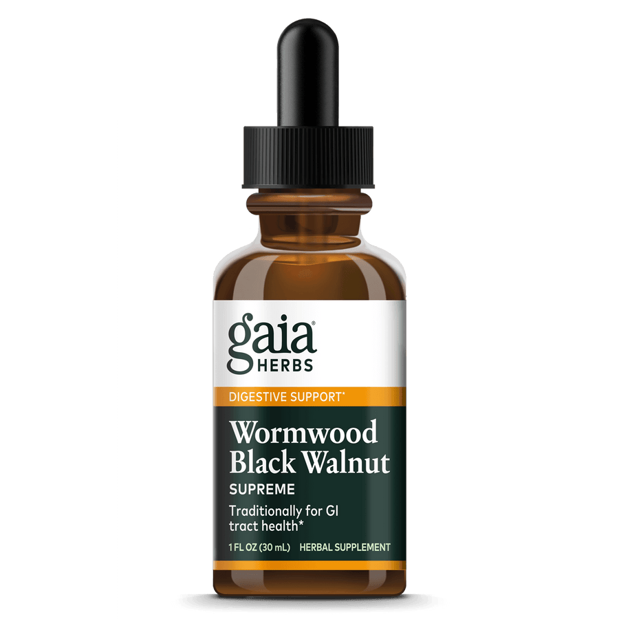 Gaia Herbs Wormwood Black Walnut Supreme for Digestive Support || 1 oz
