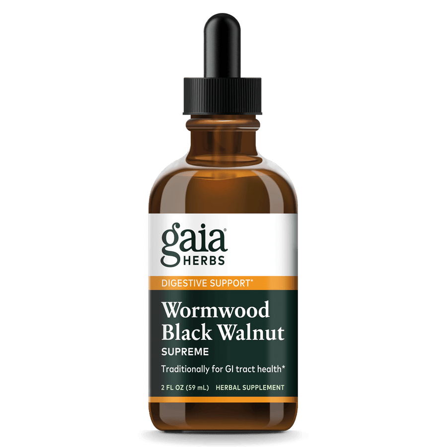 Gaia Herbs Wormwood Black Walnut Supreme for Digestive Support || 2 oz