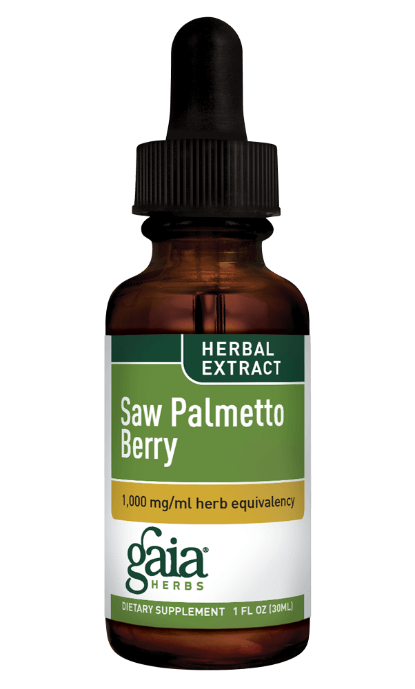 Gaia Herbs Saw Palmetto Berry for Men