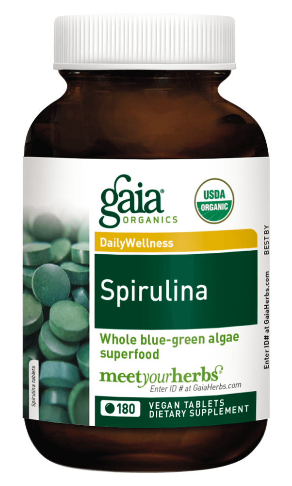 Gaia Herbs Spirulina for Foundational Support