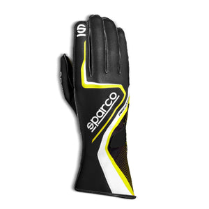 SPARCO Record 2020 Karting Gloves -  Blue/Red / Gray / Yellow / Black/Red