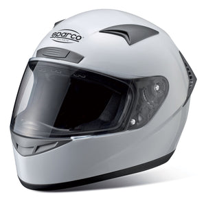 SPARCO Club X1 Helmet [DOT compliant] Black or White