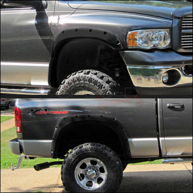 Spec-D Fender Flares Dodge Ram [Pocket Offroad Style] (2002-2009) 1500/2500/3500