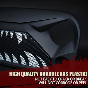 Xprite Gladiator Grill Jeep Wrangler JK (2007-2018) w/ Monster Teeth & Steel Mesh
