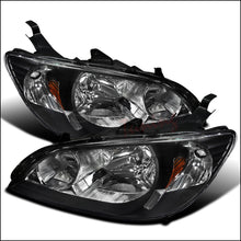 Load image into Gallery viewer, Spec-D OEM Replacement Headlights Honda Civic [JDM Euro] (04-05) Black Housing