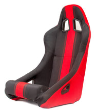 Load image into Gallery viewer, Cipher Auto Full Bucket Racing Seats (Black Fabric - Red Stripe) CPA1005FBK-RD