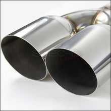 Load image into Gallery viewer, Spec-D Tuning Exhaust Hyundai Genesis 2.0T (09-14) Polished or Burnt Quad Tips