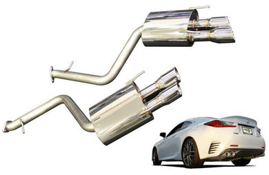 GReddy Supreme SP Exhaust Lexus RC350 RWD (2015-2018) 10118204