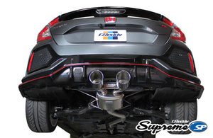 GReddy Supreme SP Exhaust Honda Civic Type-R [Dual Tips] (2017-2019) 10158214