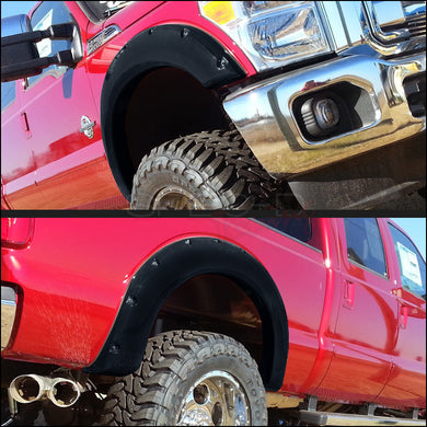 Spec-D Fender Flares Ford F250 / F350 [Styleside] (2011-2015) 81.8