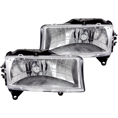 Anzo Crystal Headlights Dodge Dakota (97-04) Durango (98-03) Chrome