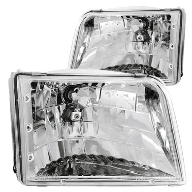 Anzo Crystal Headlights Ford Ranger (1993-1997) Chrome