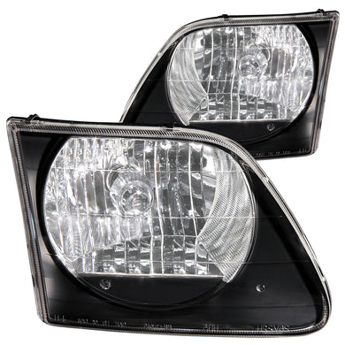 Anzo Crystal Headlights Ford F150 (97-03) Expedition (97-02) G2 Chrome or Black