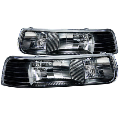Anzo Crystal Headlights Chevy Silverado 1500/2500 (99-02) 3500 (01-02) Chrome or Black