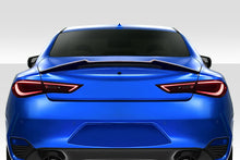 Load image into Gallery viewer, Duraflex Spoiler Infiniti Q60 (2017-2020) D Spec or M Look Rear Wing
