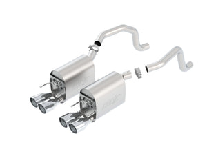Borla Axleback Exhaust Corvette C6 6.2L V8 (2009-2013) ATAK/S-Type/Touring Sound