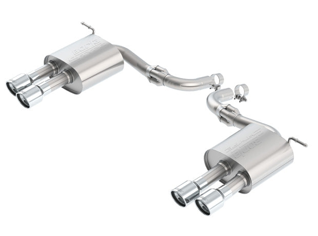 Borla Axleback Exhaust Ford Fusion Sport AWD Turbo [S-Type] (2017-2018) 11942