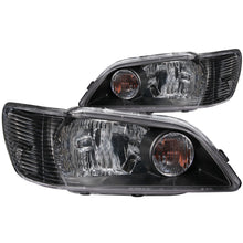 Load image into Gallery viewer, Anzo Crystal Headlights Mitsubishi Lancer (2002-2003) [Black Housing] 121101