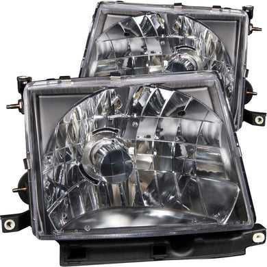 Anzo Crystal Headlights Toyota Tacoma (1997-2000) Chrome or Black