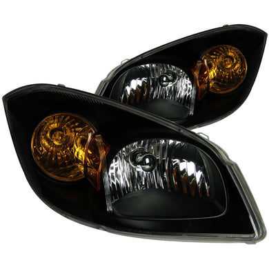 Anzo Crystal Headlights Chevy Cobalt (2005-2010) Black