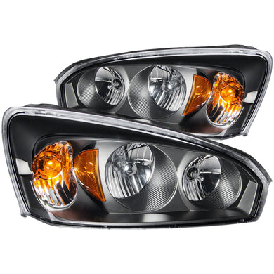 Anzo Crystal Headlights Chevy Malibu / Malibu Maxx (2004-2007) Black